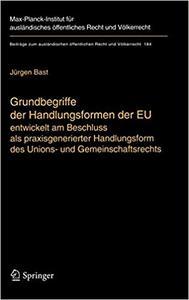Grundbegriffe der Handlungsformen der EU (Repost)