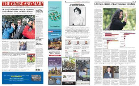 The Globe and Mail – October 31, 2017