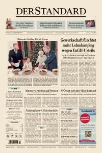 Der Standard – 23. Dezember 2019