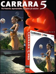 Carrara 5 Pro - 3D Modeling and Animation Software