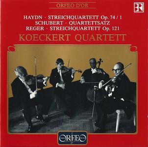 Koeckert Quartett - Haydn, Schubert, Reger: String Quartets (1993)