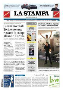 La Stampa Torino Provincia e Canavese - 19 Settembre 2018