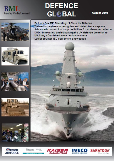 Defence Global Magazine August 2010