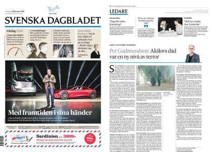 Svenska Dagbladet – 03 februari 2018