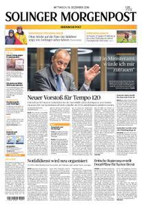 Solinger Morgenpost – 19. Dezember 2018
