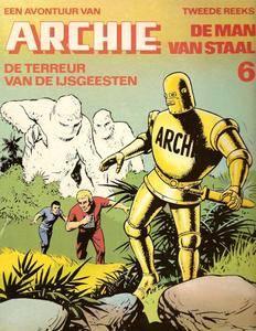 Archie De Man Van Staal - N06 - De Terreur Van De Ijsgeesten