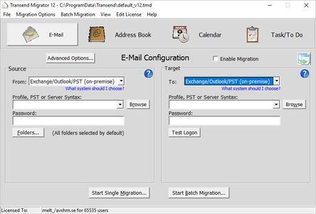 Transend Migrator 12.9 Build 1364