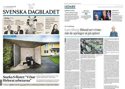 Svenska Dagbladet – 16 november 2019