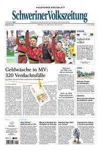 Schweriner Volkszeitung Hagenower Kreisblatt - 15. Juni 2018