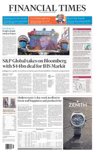 Financial Times Asia - December 1, 2020