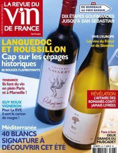 La Revue du Vin de France - Juillet-Août 2017