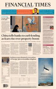 Financial Times Asia - April 5, 2021