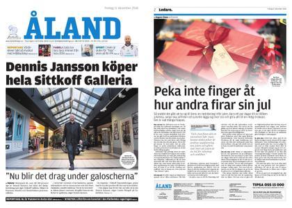Ålandstidningen – 21 december 2018