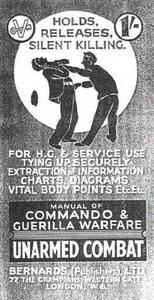 Unarmed Combat: Manual of Commando and Guerilla Warfare (Repost)