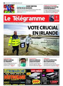 Le Télégramme Ouest Cornouaille – 08 février 2020