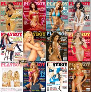 Playboy USA - Full Year 2006 Issues Collection
