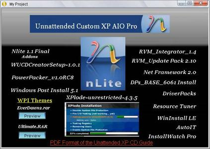 July 15 version Unnattended AIO