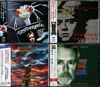 Roger Taylor (Queen) - Solo Studio Albums Collection 1981-1998 (4CD) Japanese Releases [Re-Up]