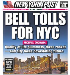 New York Post - April 7, 2021