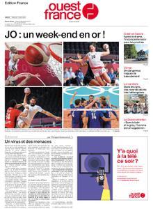 Ouest-France Édition France – 07 août 2021