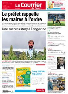 Le Courrier de l'Ouest Angers – 01 novembre 2020