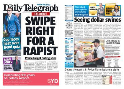 The Daily Telegraph (Sydney) – November 19, 2019