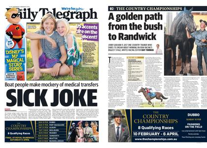 The Daily Telegraph (Sydney) – February 06, 2019
