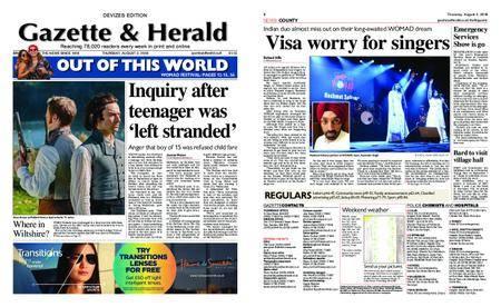 Gazette & Herald – August 02, 2018