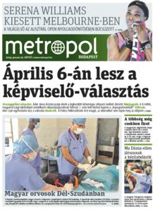Metro [Hungary - Budapest], 20. Januar 2014