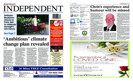 Enfield Independent – July 22, 2020
