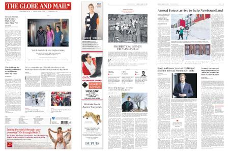 The Globe and Mail – January 20, 2020