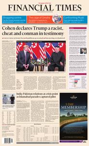 Financial Times Europe – 28 February 2019