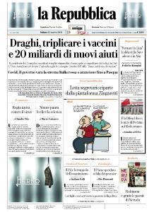 la Repubblica - 13 Marzo 2021