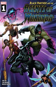 Black Panther and the Agents of Wakanda 001 2019 Digital Zone
