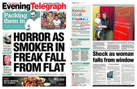 Evening Telegraph First Edition – February 08, 2018