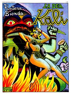 Pantera Bionda - Volume 9 - La Dea Kalì