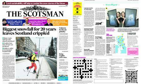 The Scotsman – March 02, 2018