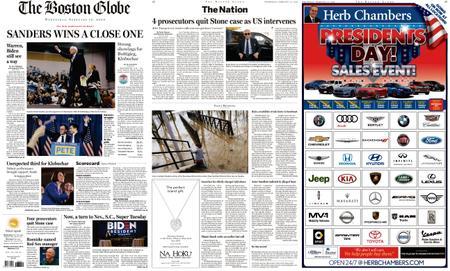 The Boston Globe – February 12, 2020