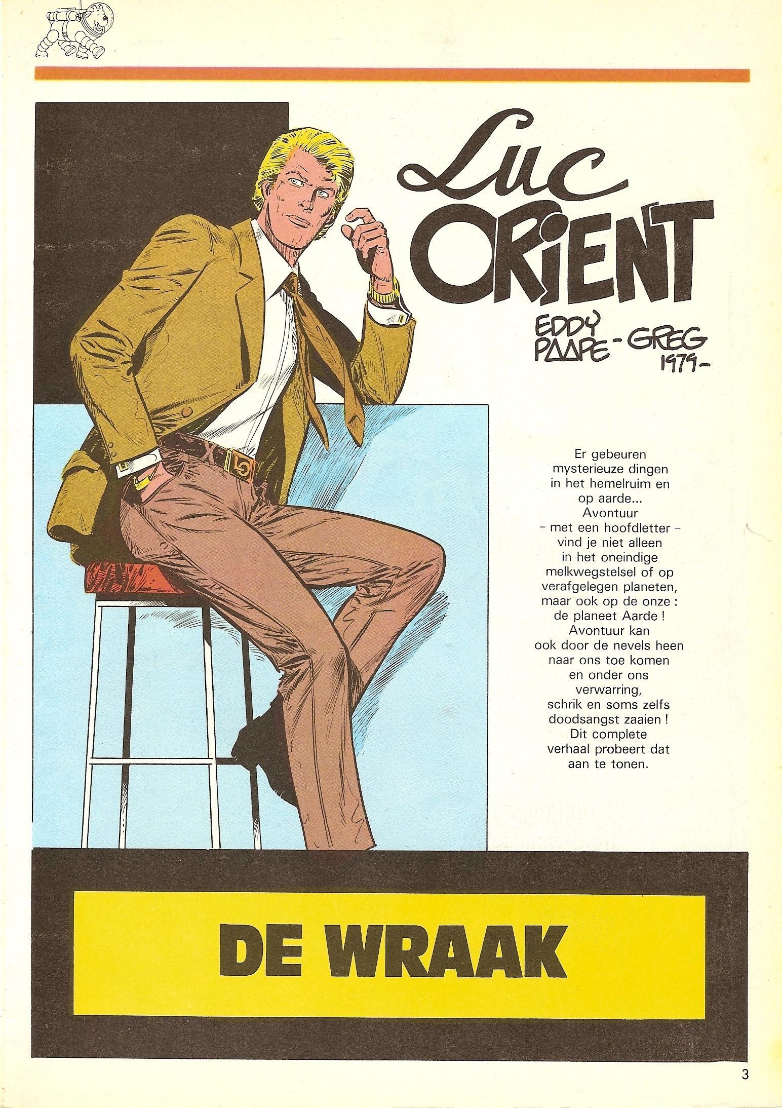 Luc Orient/Luc Orient - I01 - Alle Avonturen Deel 1