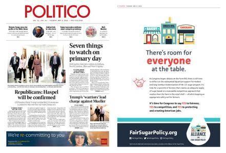 Politico – May 08, 2018