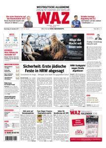 WAZ Westdeutsche Allgemeine Zeitung Oberhausen-Sterkrade - 14. Dezember 2017