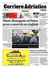 Corriere Adriatico - 18 Dicembre 2016