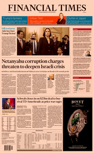 Financial Times Europe – 22 November 2019