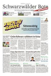 Schwarzwälder Bote St. Georgen, Triberg, Furtwangen - 25. Januar 2018