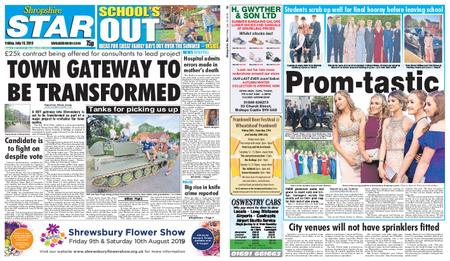 Shropshire Star Shrewsbury Edition – July 19, 2019