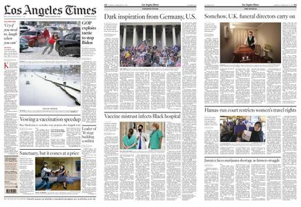 Los Angeles Times – February 16, 2021