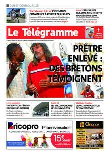 Le Télégramme Ouest Cornouaille – 13 avril 2021