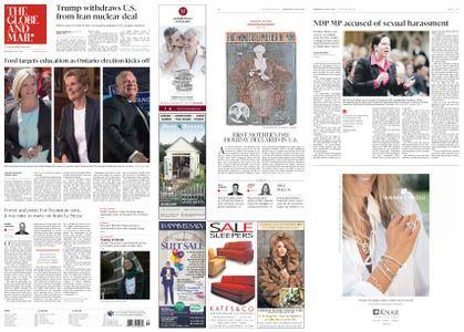 The Globe and Mail – May 09, 2018