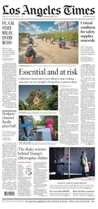 Los Angeles Times – 02 April 2020