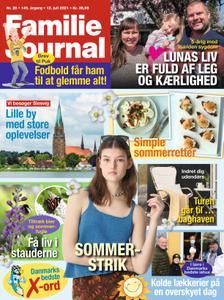 Familie Journal – 12. juli 2021